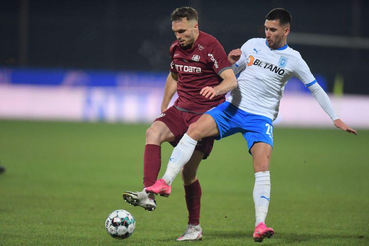 CFR Cluj, ultima din Liga 1! Doar o singură altă echipă stă la fel de prost
