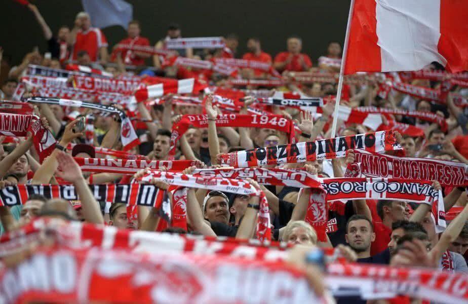 """Deși Dinamo se află într-o situație deplorabilă, atât din punct de vedere financiar, cât și sportiv, fanii """"câinilor"""" încă mai au dispoziție pentru ironii. Ultima oportunitate ivită: duelul cu FCSB din optimile Cupei României."""