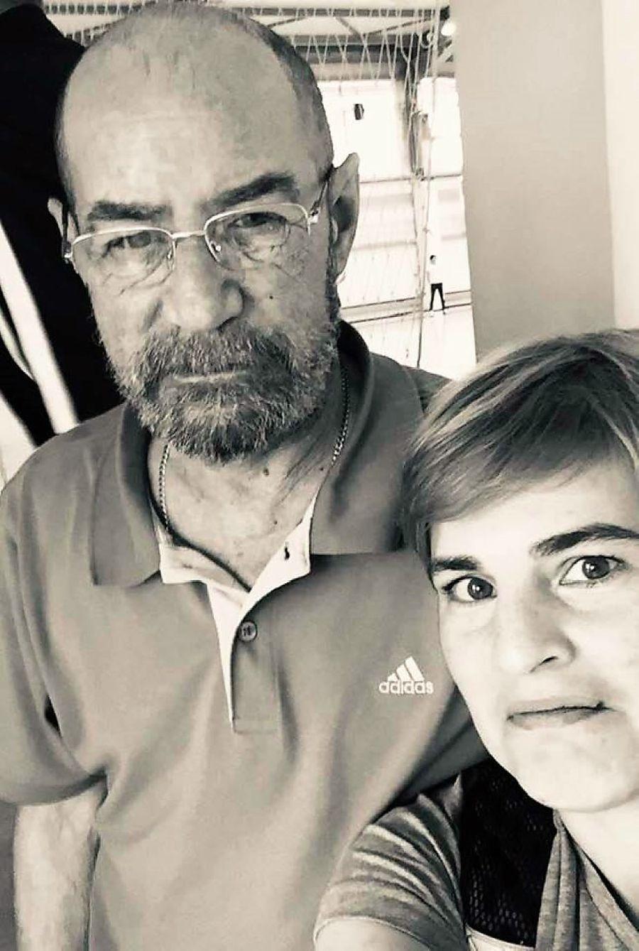 Bogdan Macovei alături de Nicoleta Gâscă Alexandrescu într-o imagine din 2019