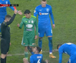 Partida CS U Craiova - Sepsi a fost marcată pe final de cartonașul roșu încasat de Vladimir Screciu (20 de ani, mijlocaș central).
