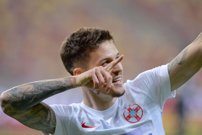 Dennis Man (22 de ani), extrema celor de la FCSB, chiar este așteptat la Parma. Ultima postare a fotbalistului a stârnit multă agitație.