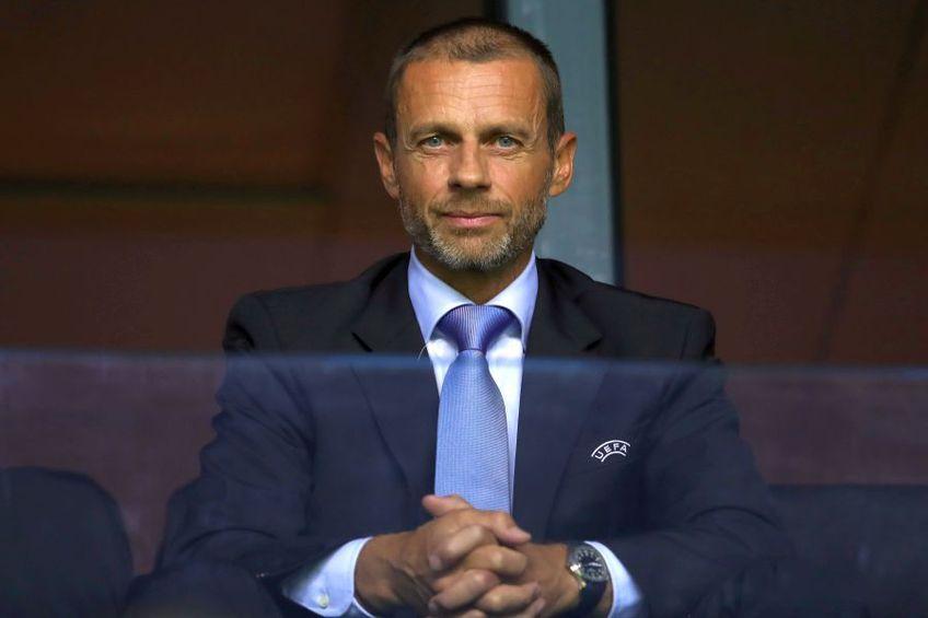 Aleksander Ceferin, președintele UEFA
