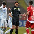 Sebastian Colțescu va continua să arbitreze în Liga 1, chiar dacă a fost suspendat de UEFA