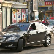 Imagini surprinse în traficul din București / Sursă foto: Guliver/Getty Images