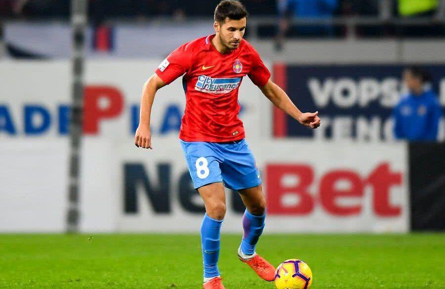 "Lucian Filip, ""secund"" la CSA Steaua - FCSB 2"