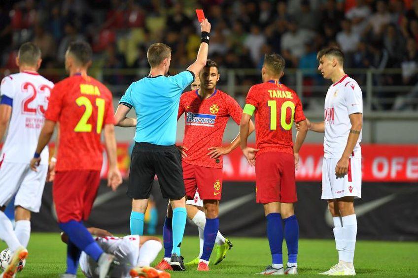 Mijlocașul Lucian Filip (30 de ani) va sta pe bancă la meciul dintre CSA Steaua și FCSB 2, din Liga 3.