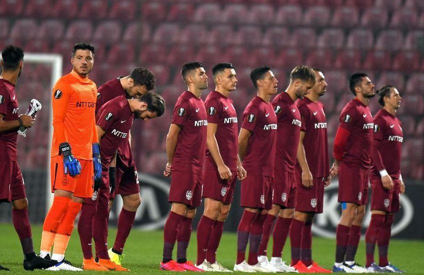 CFR Cluj a primit o veste teribilă. Atacanții Mario Rondon (34 de ani), Valentin Costache (22 de ani) și Gabriel Debeljuh (24 de ani) au fost confirmați pozitiv cu Covid-19.
