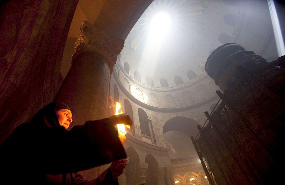 Și în acest an, Lumina Sfântă va veni de la Biserica Sfântului Mormânt, din Ierusalim, foto: Guliver/gettyimages