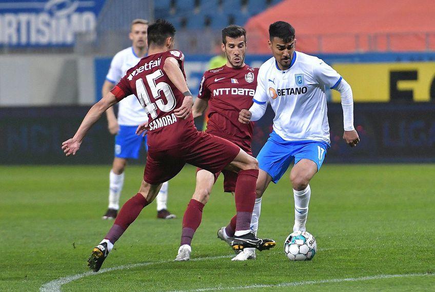 Craiova și CFR Cluj au terminat la egalitate, 0-0, în derby-ul ultimei etape din sezonul regulat // FOTO: Facebook @UCVOficial