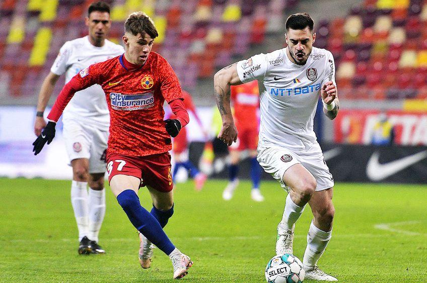 FCSB și CFR Cluj se pot duela cu titlul pe masă, în ultima etapă