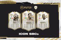 Trei carduri noi de tip ICON disponibile în SBC-urile din FIFA 21! Cu cine poți să-ți completezi echipa