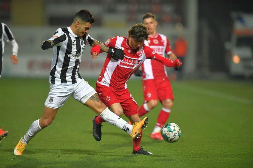 Astra și Dinamo se vor înfrunta în semifinalele Cupei României
