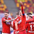 FCSB se mută la Giurgiu în play-off // foto: Facebook @ FCSB