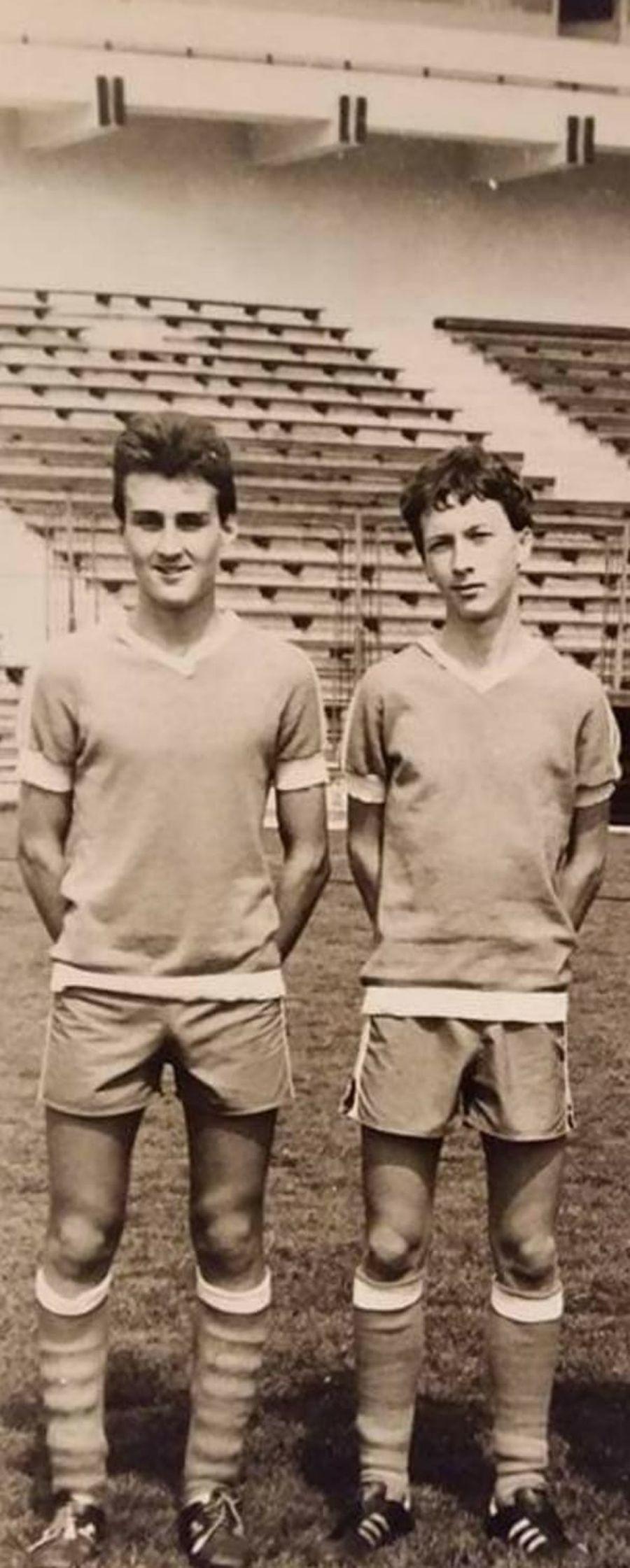 Mihai Stoica, în dreapta // foto: Facebook @ Valentin Stefan