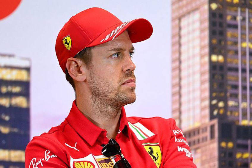 Sebastian Vettel nu a câștigat niciun titlu cu Ferrari // FOTO: Guliver/GettyImages
