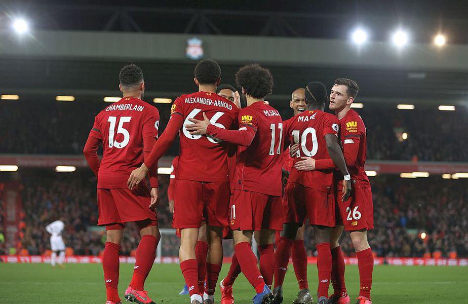 Liverpool e lider în Premier League // FOTO: Guliver/GettyImages