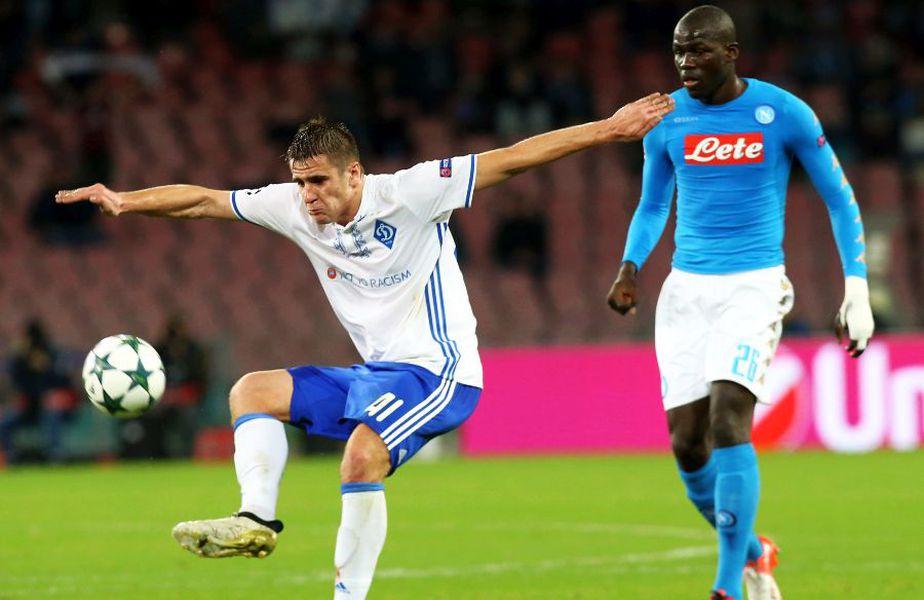 Artem Besedin, într-un meci cu Napoli. foto: Guliver/Getty Images