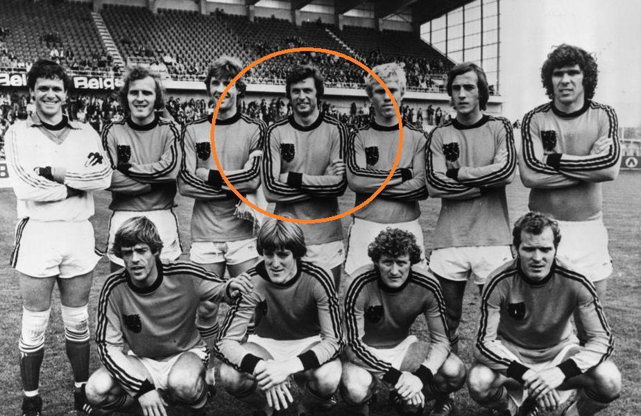 Wim Suurbier, alături de colegii din naționala Olandei, la Campionatul Mondial din Argentina, 1978, foto: Guliver/gettyimages