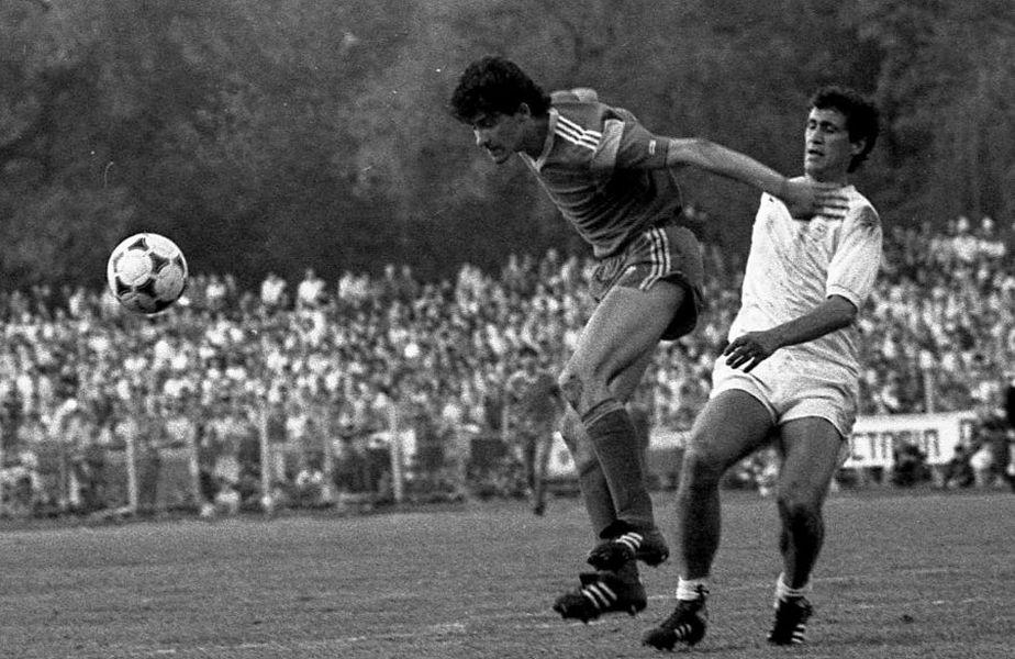 Un duel formidabil într-un derby Steaua - Dinamo al anilor 80: Belodedici versus Cămătaru