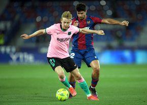 """Barcelona, pas greșit cu Levante, într-un """"thriller"""" cu 6 goluri! Cum arată calculele pentru titlu acum"""