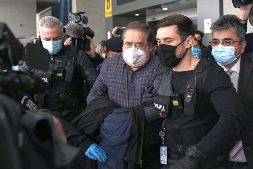 Ioan Niculae, în momentul încarcerării
