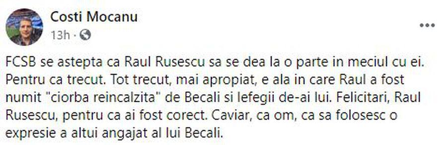 """MM Stoica aruncă """"bomba"""": Rusescu, din vară la CFR Cluj?!"""