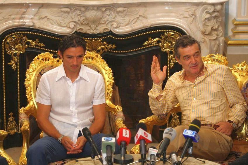 George Ogăraru a jucat la echipa lui Gigi Becali