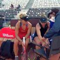 Simona Halep a abandonat în turul II al turneului de la Roma