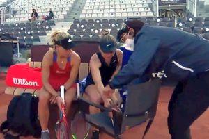 Kerber, gest de mare campioană la Roma! Ce a făcut după accidentarea Simonei Halep