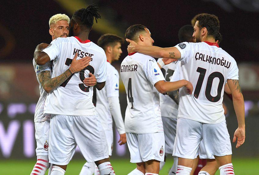 AC Milan s-a distrat pe terenul lui Torino și a câștigat cu un scor incredibil, 7-0 // FOTO: Guliver/GettyImages