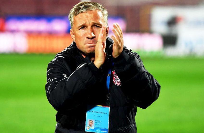 Dan Petrescu se apropie de un nou titlu de campion alături de CFR Cluj