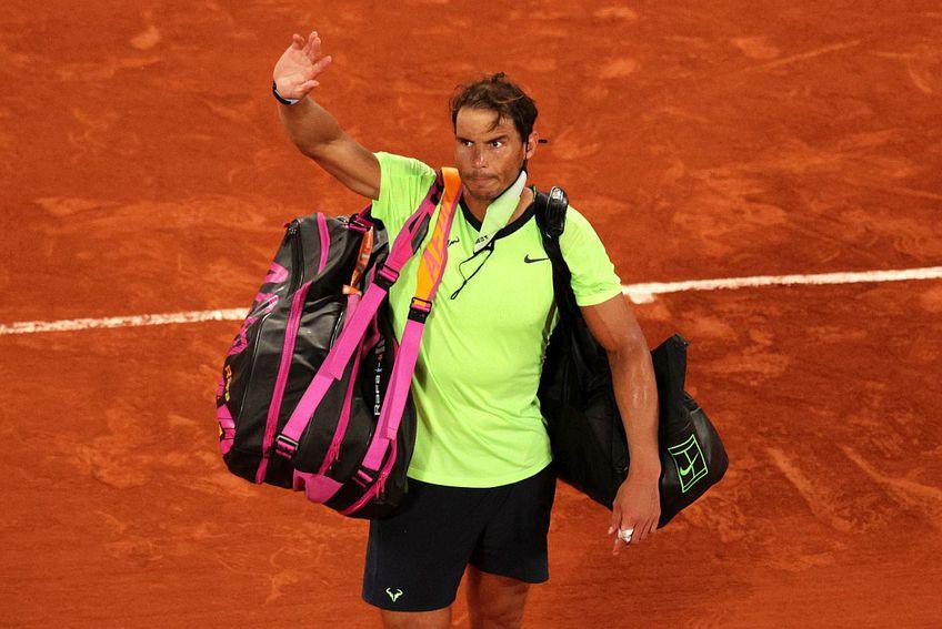 Novak Djokovic (1 ATP) l-a învins pe Rafael Nadal (3 ATP) în semifinala Roland Garros 2021 // FOTO: Guliver/GettyImages