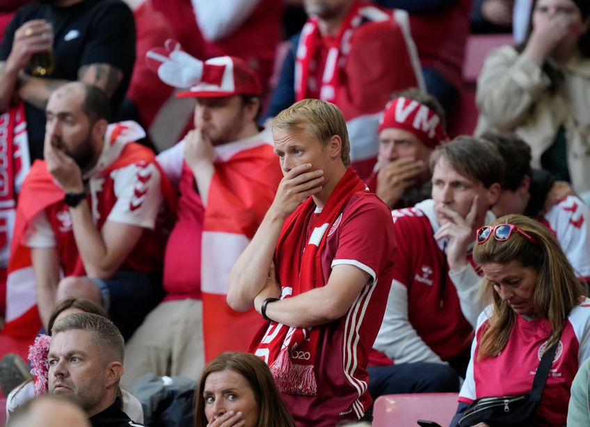 Christian Eriksen (29 de ani) s-a prăbușit pe gazon în minutul 43 al meciului Danemarca - Finlanda, de la Euro 2020. Rezigorul transmisiei a fost aspru criticat de fani, pentru cadrele cu soția fotbalistului.