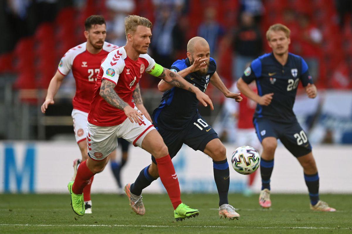 Simon Kjaer, eroul de la Copenhaga » Ce a făcut fundașul danez, imediat după ce Christian Eriksen s-a prăbușit pe gazon