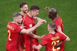 """Belgia - Rusia 3-0 » """"Chris, I love you!"""" » Lukaku i-a dedicat primul gol lui Eriksen, rușii s-au bătut singuri"""