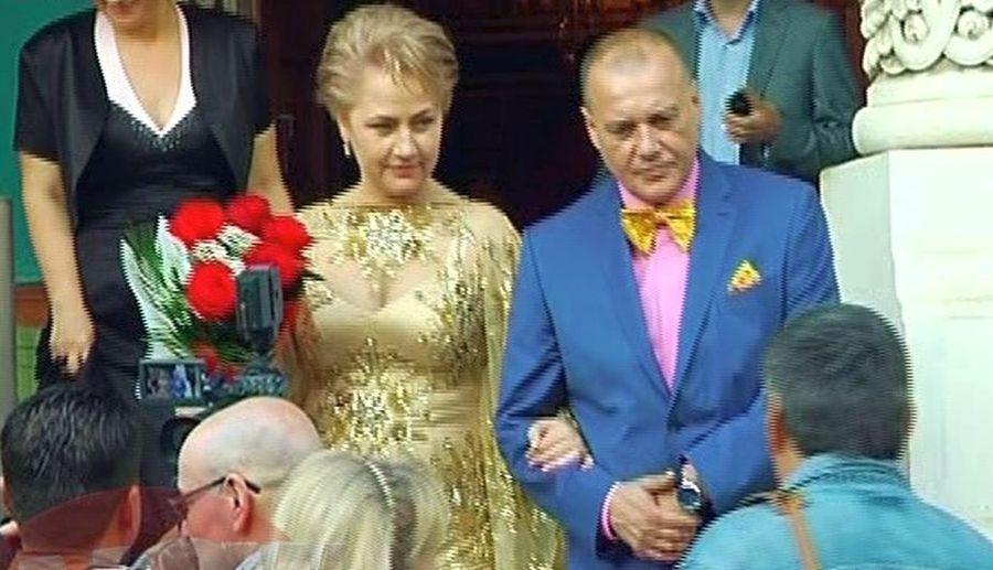 Marcel Pușcaș și Elena Burlan-Pușcaș s-au căsătorit în 2014 // Foto: captură Kanal D
