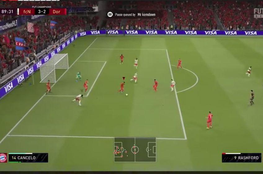 """Un gamer a creat un video menit să demonstreze că jocul este """"scriptat"""" // foto: captură YouTube @  FUT Mentor"""