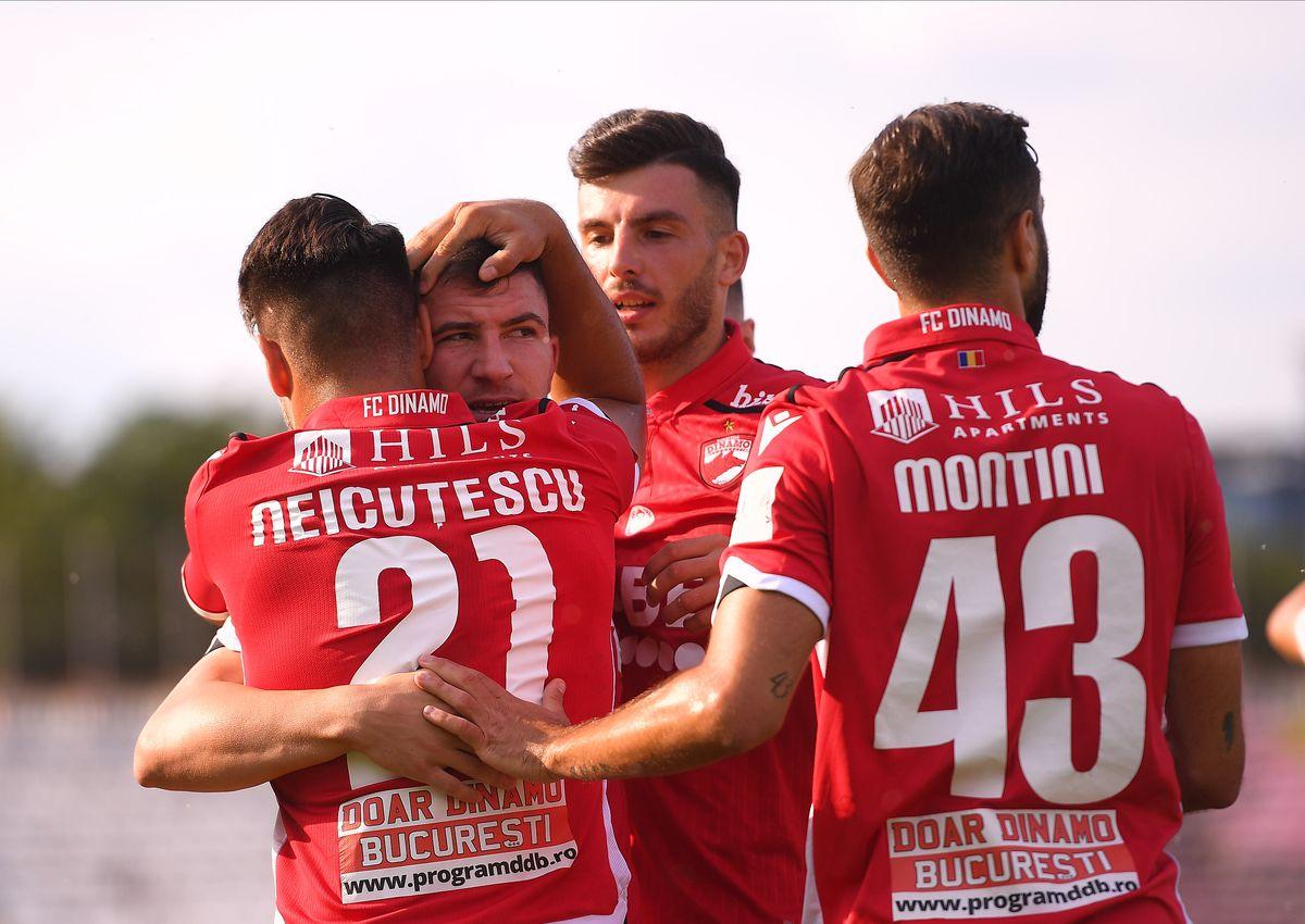 Dinamo - Poli Iași 12 iulie