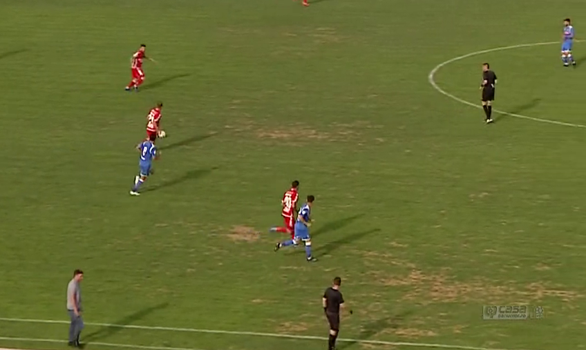 Sursă foto: capturi TV Telekom Sport