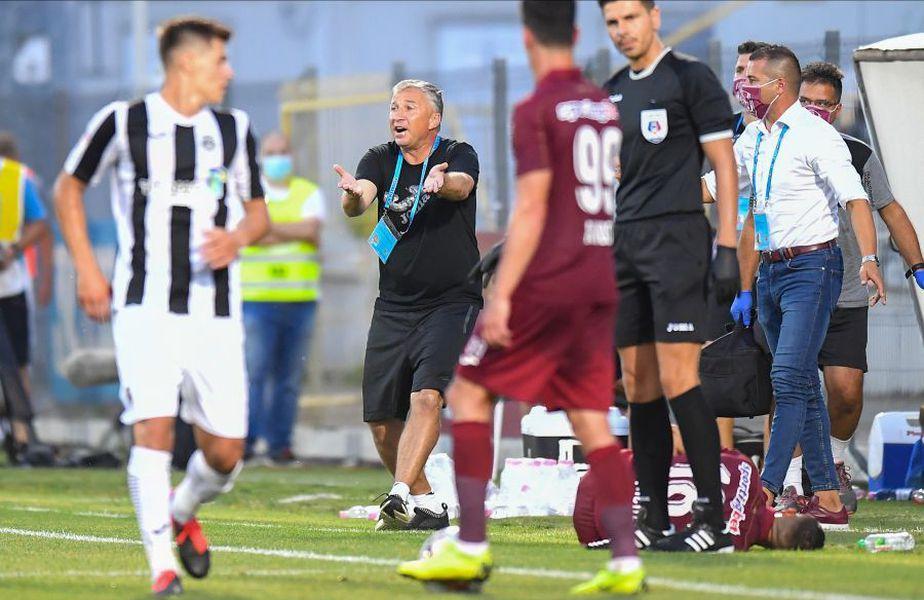 CFR Cluj a pierdut șefia în Liga 1 și e la un pas să rateze titlul în detrimentul Craiovei.