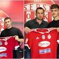 Sepsi OSK a semnat cu Vitalie Damascan (stânga) și Rareș Ispaș (dreapta) // foto: Facebook