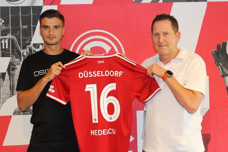 """Dragoș Nedelcu a fost prezentat la noua echipă » Obiectiv important: """"Vreau să promovez!"""""""