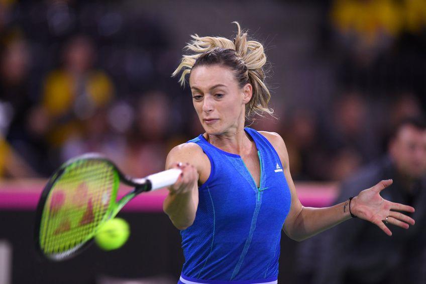 Ana Bogdan a jucat în acest sezon unsprezece meciuri, câștigând șase FOTO Raed Krishan