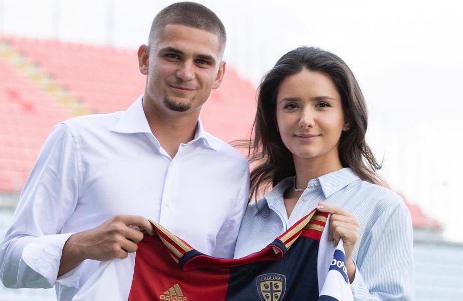 Răzvan Marin (24 de ani) are contract până în 2025 cu Cagliari. Clubul sard l-a luat împrumut un sezon cu obligație de cumpărare vara viitoare: 10 milioane de euro.