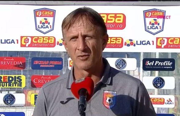 """CLINCENI - CHINDIA 0-0. Emil Săndoi, gest admirabil după ce s-a vindecat de COVID-19: """"O să vorbesc și cu băieții"""""""