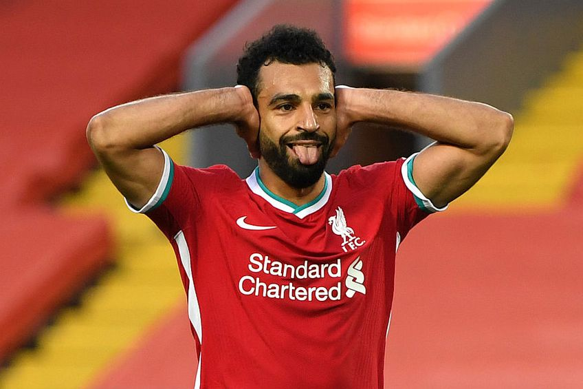 Mohammed Salah a reușit un hat-trick // FOTO: Guliver/GettyImages