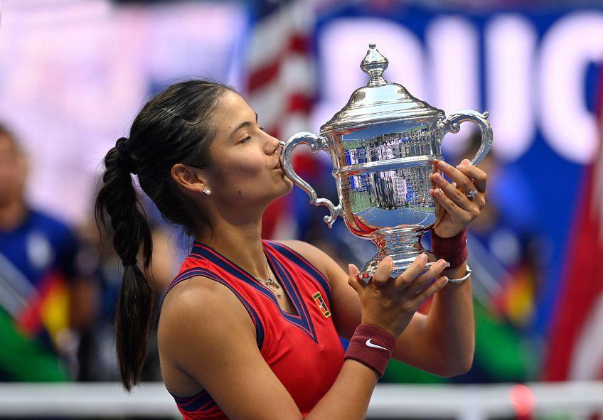 Emma Răducanu e campioană la US Open // FOTO: Imago