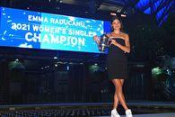 """Emma Răducanu, apariție spectaculoasă după victoria de la US Open: """"Tata e greu de mulțumit, dar azi am reușit"""""""