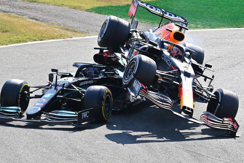 Accident Verstappen - Lewis Hamilton // foto: Guliver/gettyimages