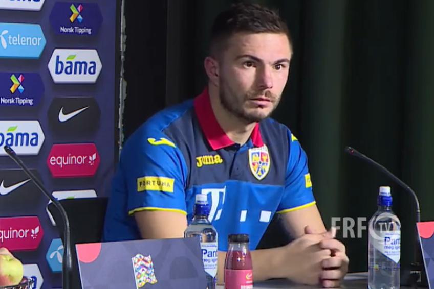 Alin Toșca (28 de ani, fundaș central) a încercat să vadă partea plină a paharului după jocul dezastruos prestat de națională, 0-4 cu Norvegia în Liga Națiunilor.